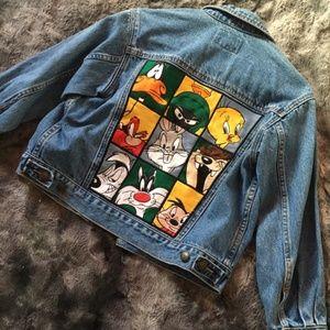 Warner Bros 90's Vintage Denim Jacket